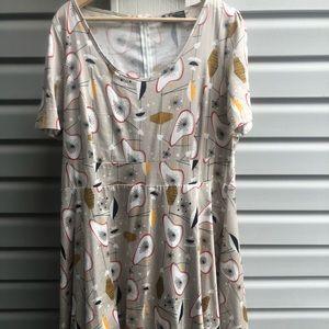 Dresses & Skirts - 50s vintage reproduction atomic print dress